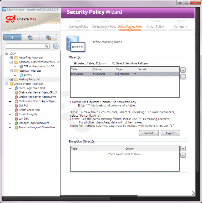 security-policy-wizard | JET-Software GmbH