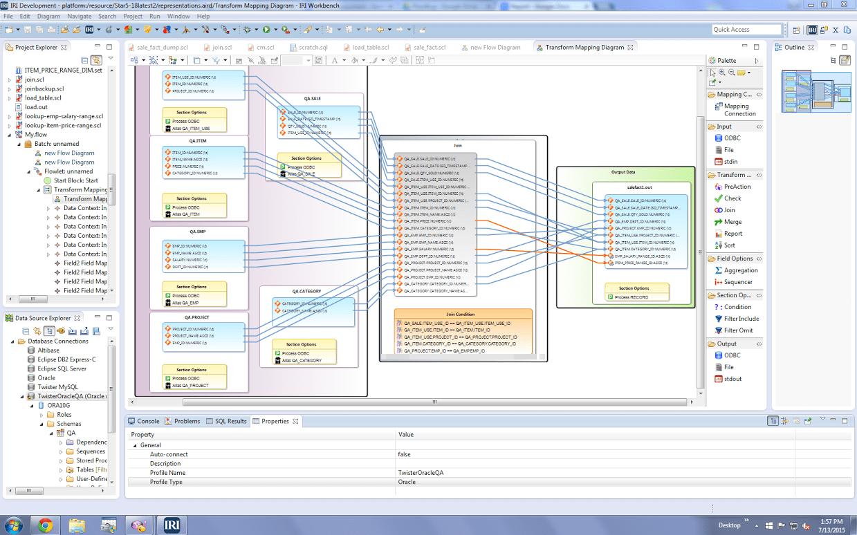 IRI Workbench Voracity GUI Design and Develop – JET-Software